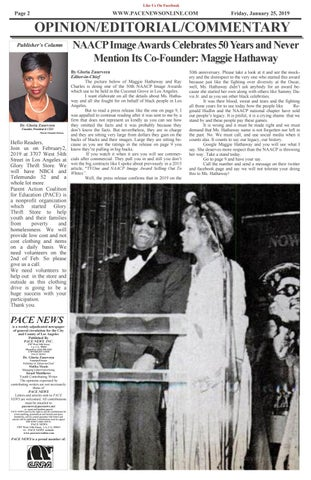 Page 2 of NAACP Image Awards Disrespects Its Founder, Maggie Hathaway