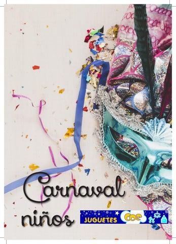 CATÁLOGO NIÑOS CARNAVAL JUGUETES COE 2019 by Elizabeth Mayoral - issuu 5c5b2ace06f