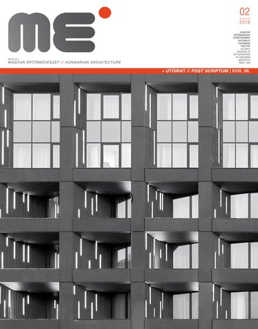 f9229513ed Hungarian Architecture 2018/2 by Hungarian Architecture - issuu