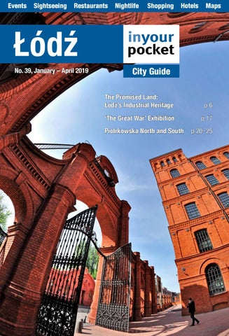 Lodz In Your Pocket January April 2019 By Poland In Your