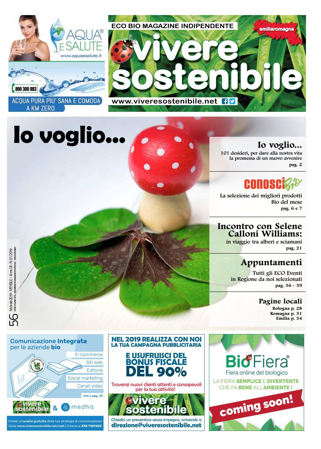 Il numero di Febbraio 2019 di VIVERE SOSTENIBILE EMILIA ROMAGNA by  Edibit Vivere Sostenibile - issuu 4941c5628cf