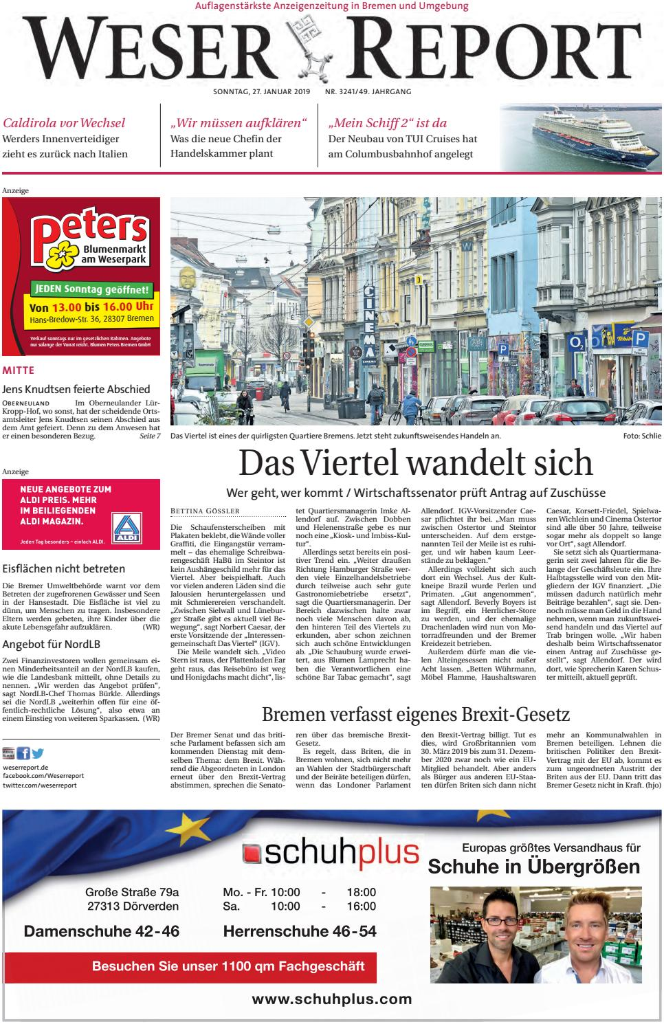 Weser Report Mitte vom 27.01.2019 by KPS