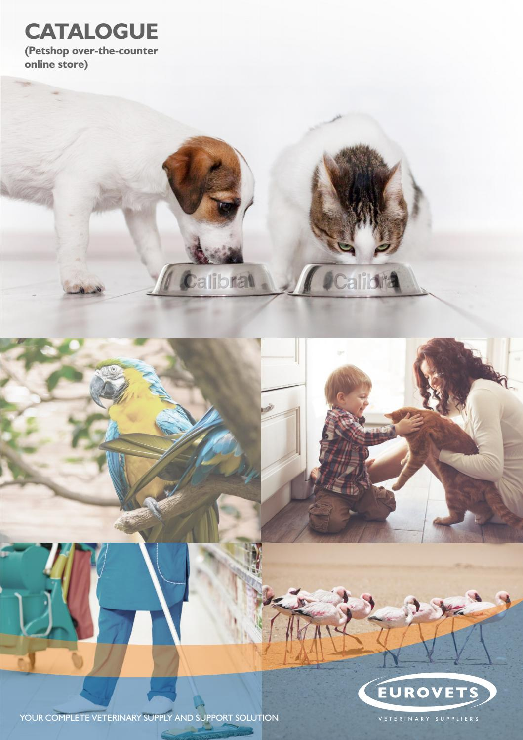 Eurovets' comprehensive brochure for our Petshop clients by Eurovets