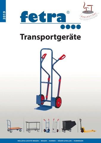 Stahlrohrkarre Transportkarre Karre Vollgummireifen Tragkraft 250kg Fetra B1115V