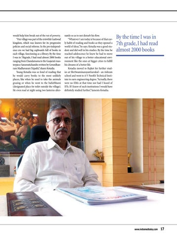 Page 17 of Interview Dhirajlal Kotadia