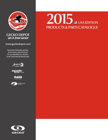 4a67914301acd Gecko Depot 2015 Catalog US Edition by Gecko Marketing - issuu