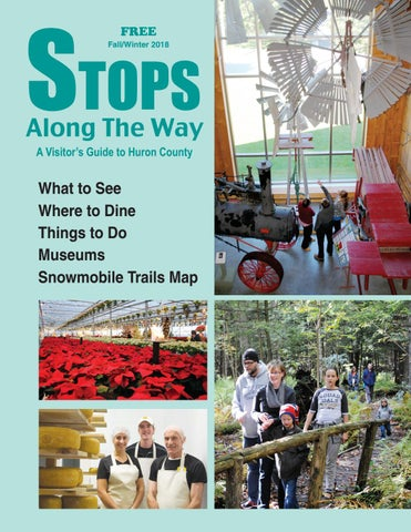 Stops Along the Way - Fall Winter 2018 by North Huron Publishing ... 06a2c6185e568
