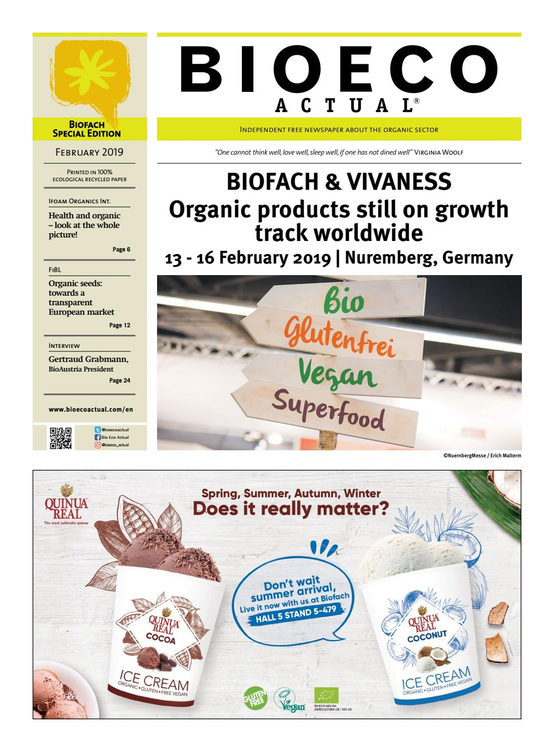 Bio Eco Actual - BIOFACH & VIVANESS 2019 Special Edition by
