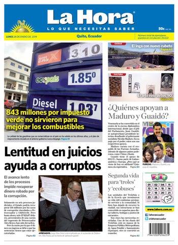 a692d476297 Quito 28 de enero de 2019 by Diario La Hora Ecuador - issuu