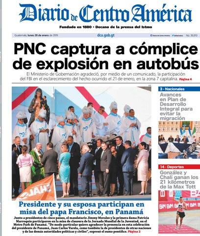 Edición del Diario de Centro América del 28 de enero de 2019. by ... 20786f18776