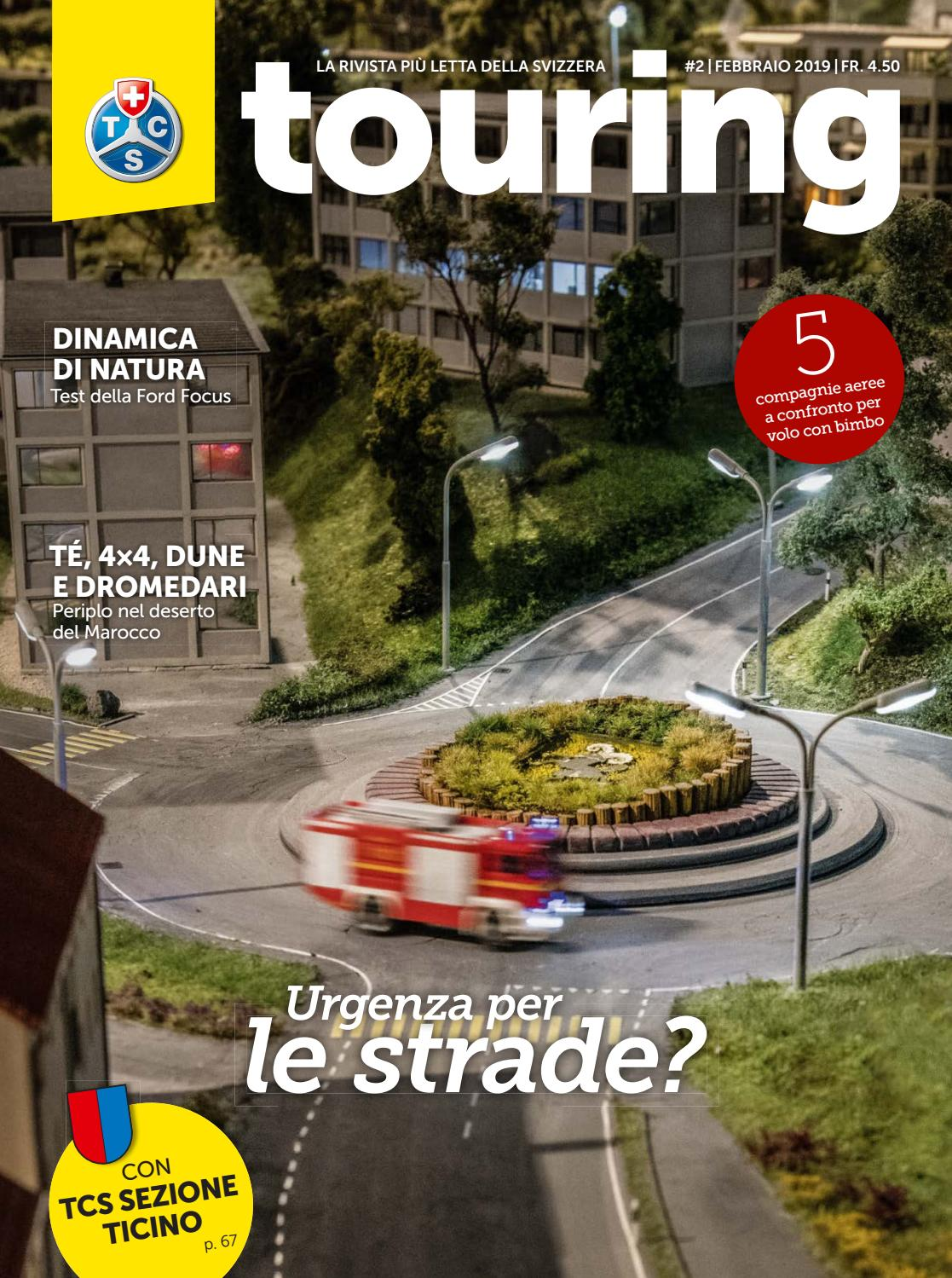 fb3e4eeaf2 Touring 02 / 2019 italiano by Touring Club Schweiz Suisse Svizzera  Switzerland - issuu