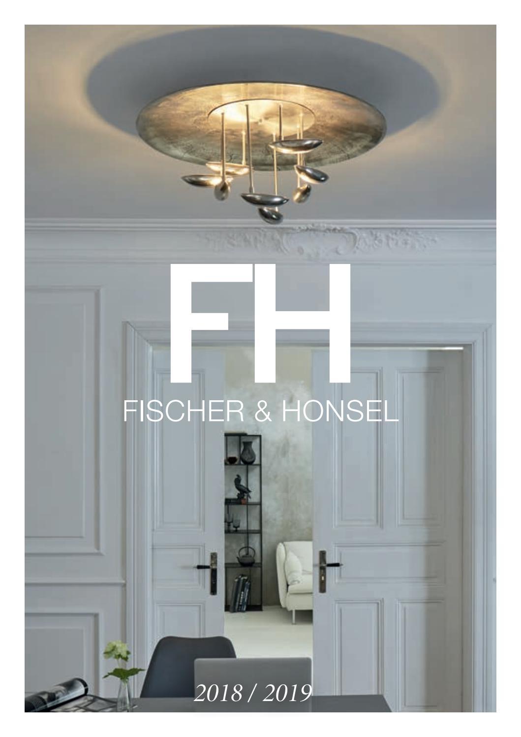 Design Tischleuchte Nickel matt Stoffschirm grau E14 Tischlampen Wohnraum Flur