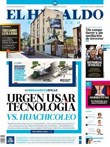 1161aff37ea1 28 de enero 2019 by El Heraldo de México - issuu