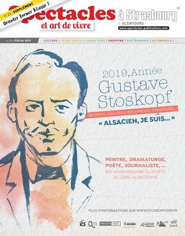 36bc3b5dea3 Spectacles Publications Strasbourg n°219   Février 2019 by ...