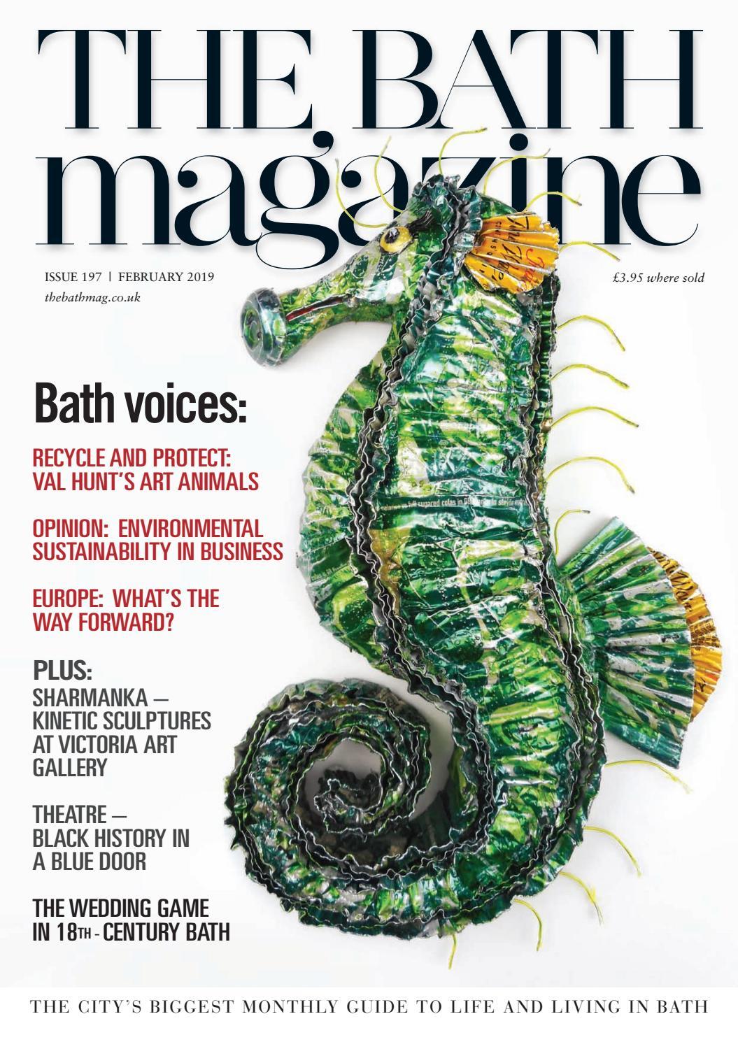 924536b89dca The Bath Magazine February 2019 by MC Publishing Limited - issuu