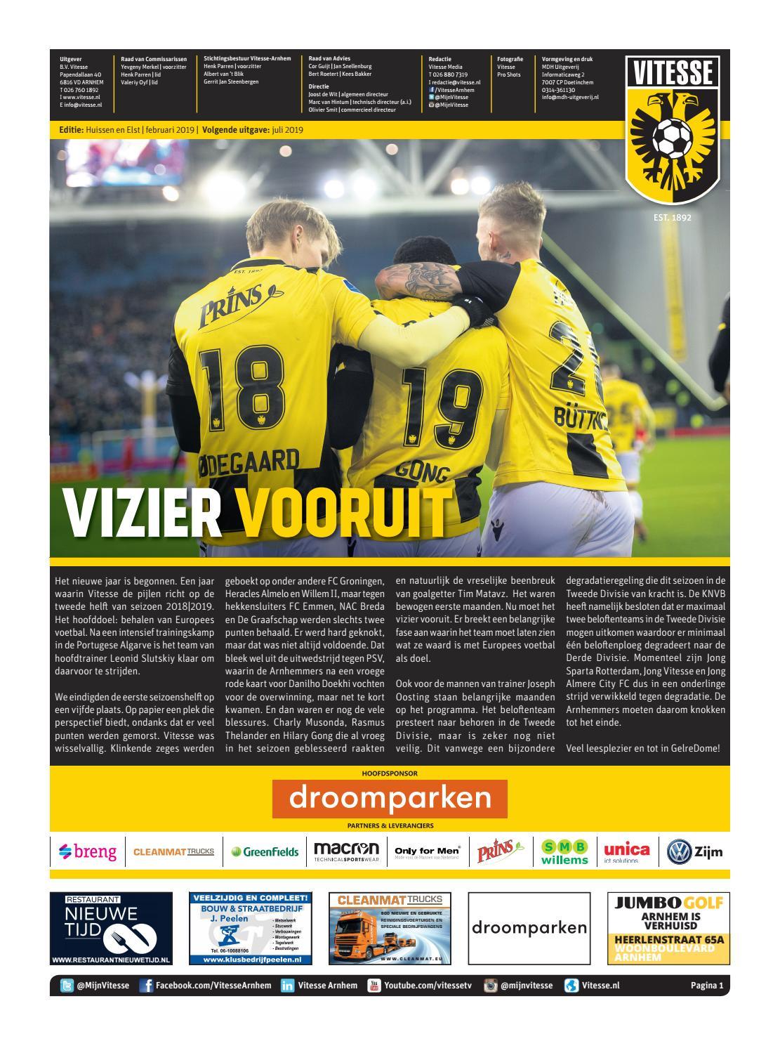 Vitesse Huissen Elst By Mdh Uitgeverij Issuu