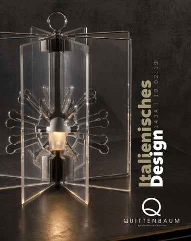 Auction 143 A | Italian Design | Quittenbaum Art Auctions by