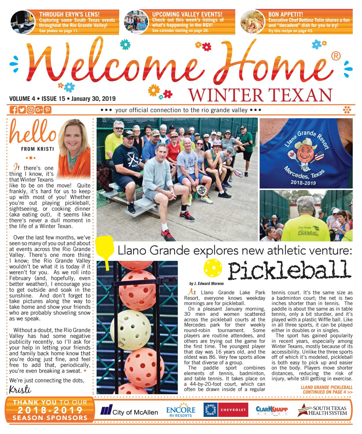 c07b0117438 Welcome Home Winter Texan   Vol 4 Issue 15   January 30