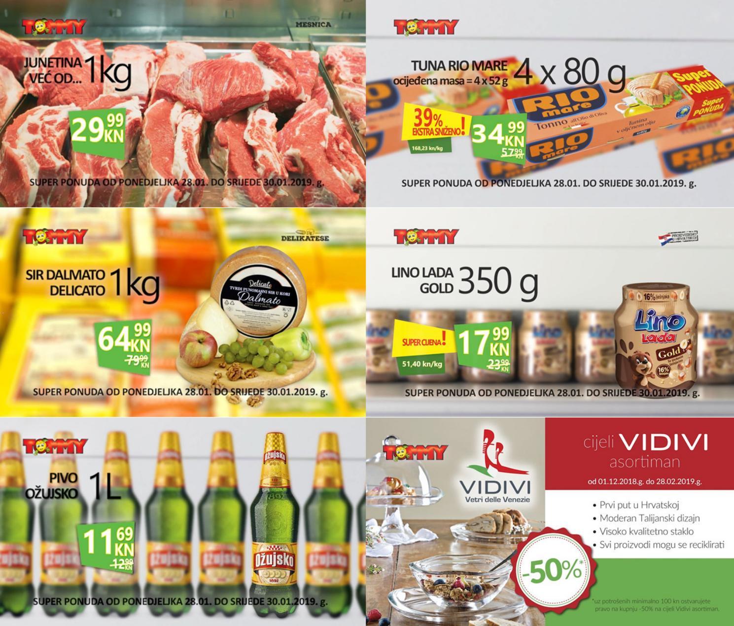 Nova Tommy super ponuda za početak tjedna. Od 28.- 30.01.2019. iskoristite nove super cijene u našim prodajnim centrima.