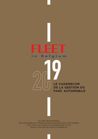 Calendrier Paiement Randstad 2020.Fleet In Belgium 2019 Fr By Effective Media Issuu