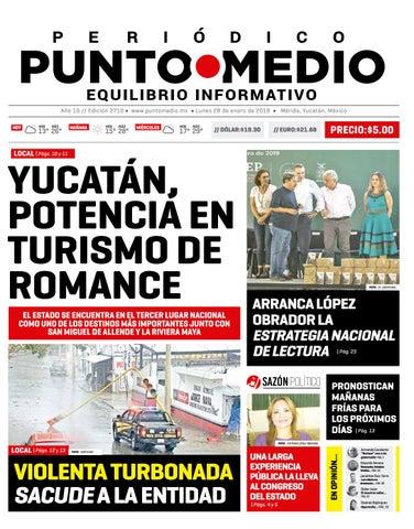 2c0ff601d8c5c Edición impresa del lunes 28 de enero de 2019 by Punto Medio - issuu