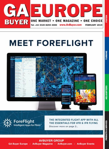 GA Buyer Europe February 2019 by AvBuyer Ltd  - issuu