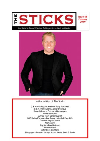 cca85375 Sticks Magazine February 2019 - What's on in Herts, Beds and Bucks ...