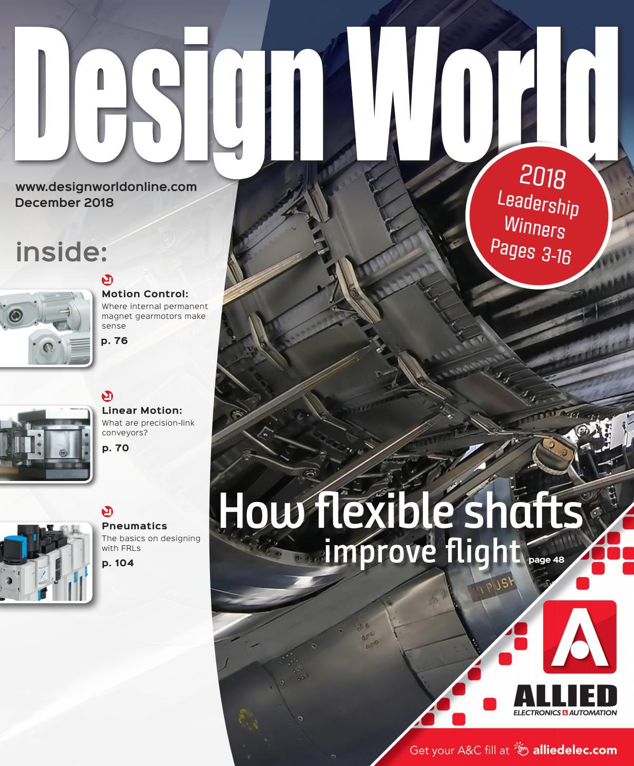 DESIGN WORLD DECEMBER 2018 by WTWH Media LLC - issuu