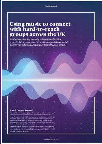 Page 6 of Using music to connect.