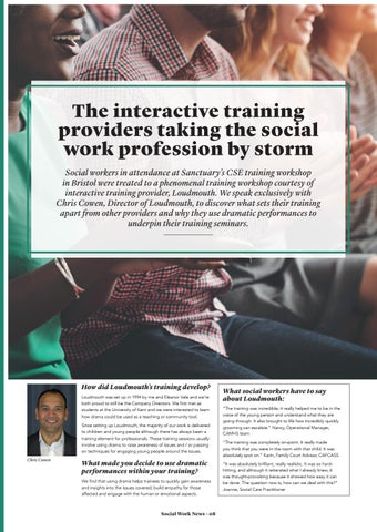 Page 8 of The interactive training providers taking the social work profession by storm.
