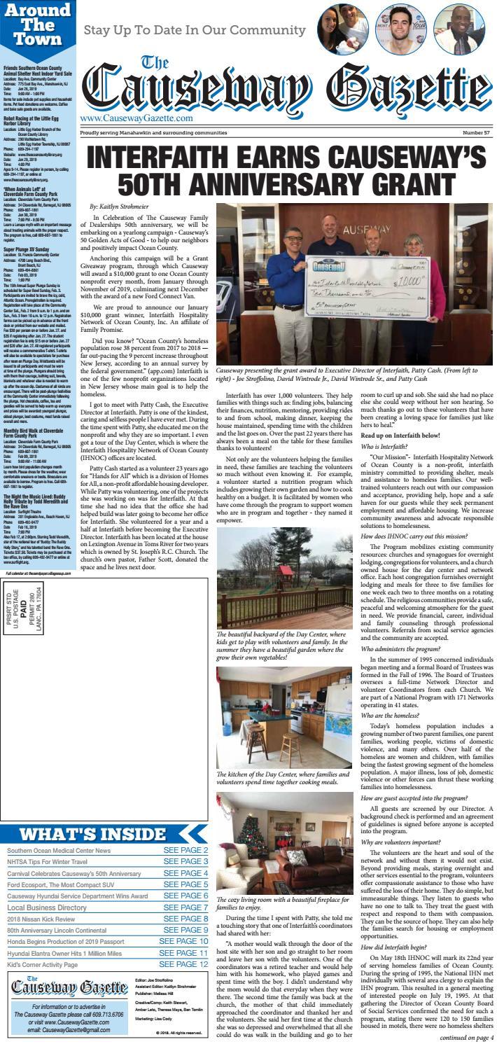 Causeway Gazette January 2019 by The Causeway Gazette - issuu