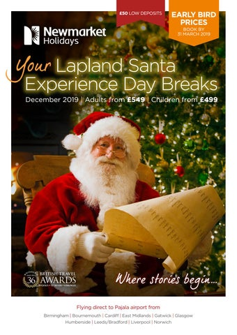 d8d23da88f566 Lapland Santa Experience Day Breaks 2019 by Newmarket Holidays - issuu