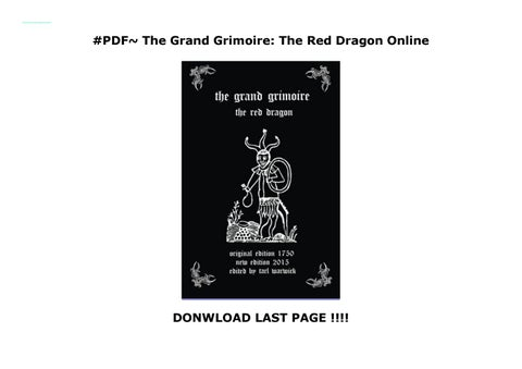 Red Dragon Book Pdf