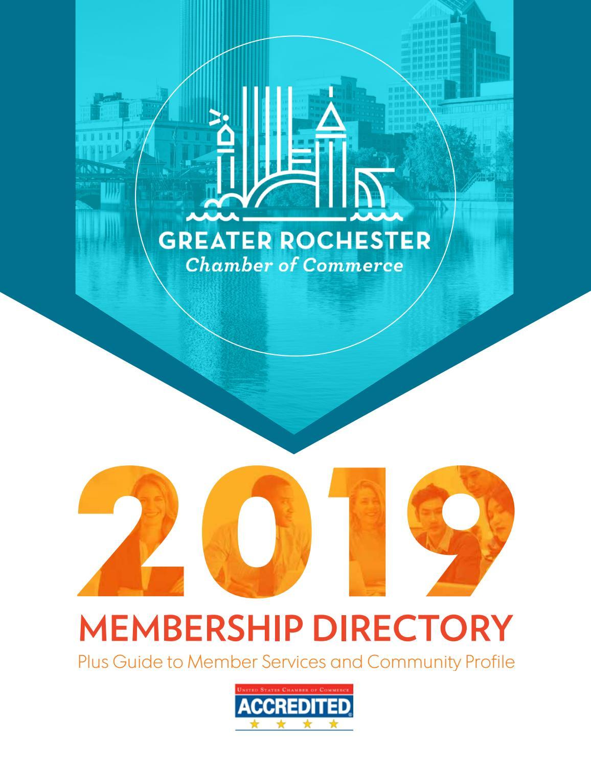 2019 Rochester Chamber Membership Directory by Rochester Chamber - issuu