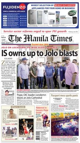 The Manila Times | January 29, 2019 by The Manila Times - issuu