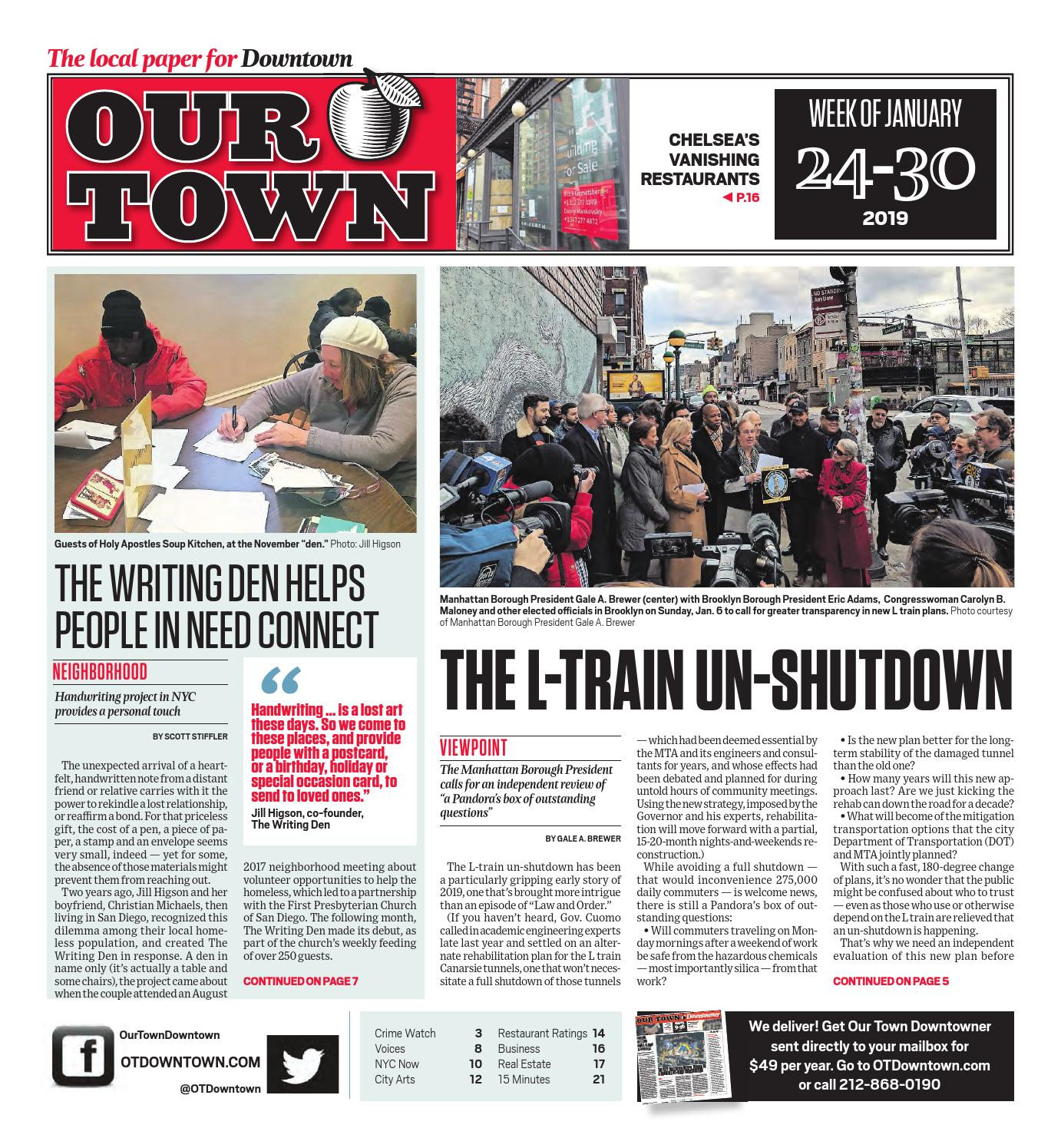 Our Town Downtown - January 24, 2019 by OurTown Downtown - issuu