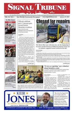 Jan  25, 2019 | Vol  XLI No  5 by Signal Tribune - issuu