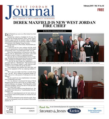 West Jordan Journal February 2019 by The City Journals - issuu