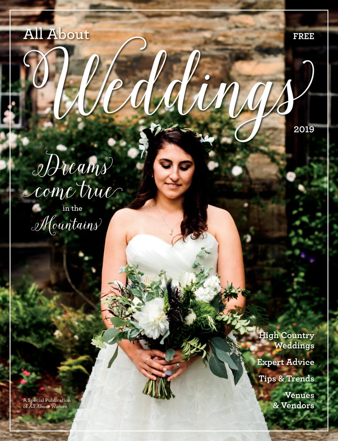 6a1673e0059 All About Weddings 2019 by Mountain Times Publications - issuu