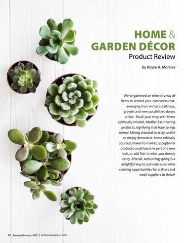 Page 34 of Home & Garden Decor - Retailing Insight Magazine