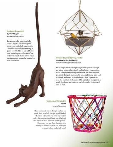 Page 35 of Home & Garden Decor - Retailing Insight Magazine
