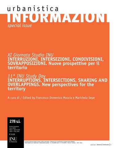 Urbanistica Informazioni  278 special issue - Anteprima by ... 9a54b35b9a72