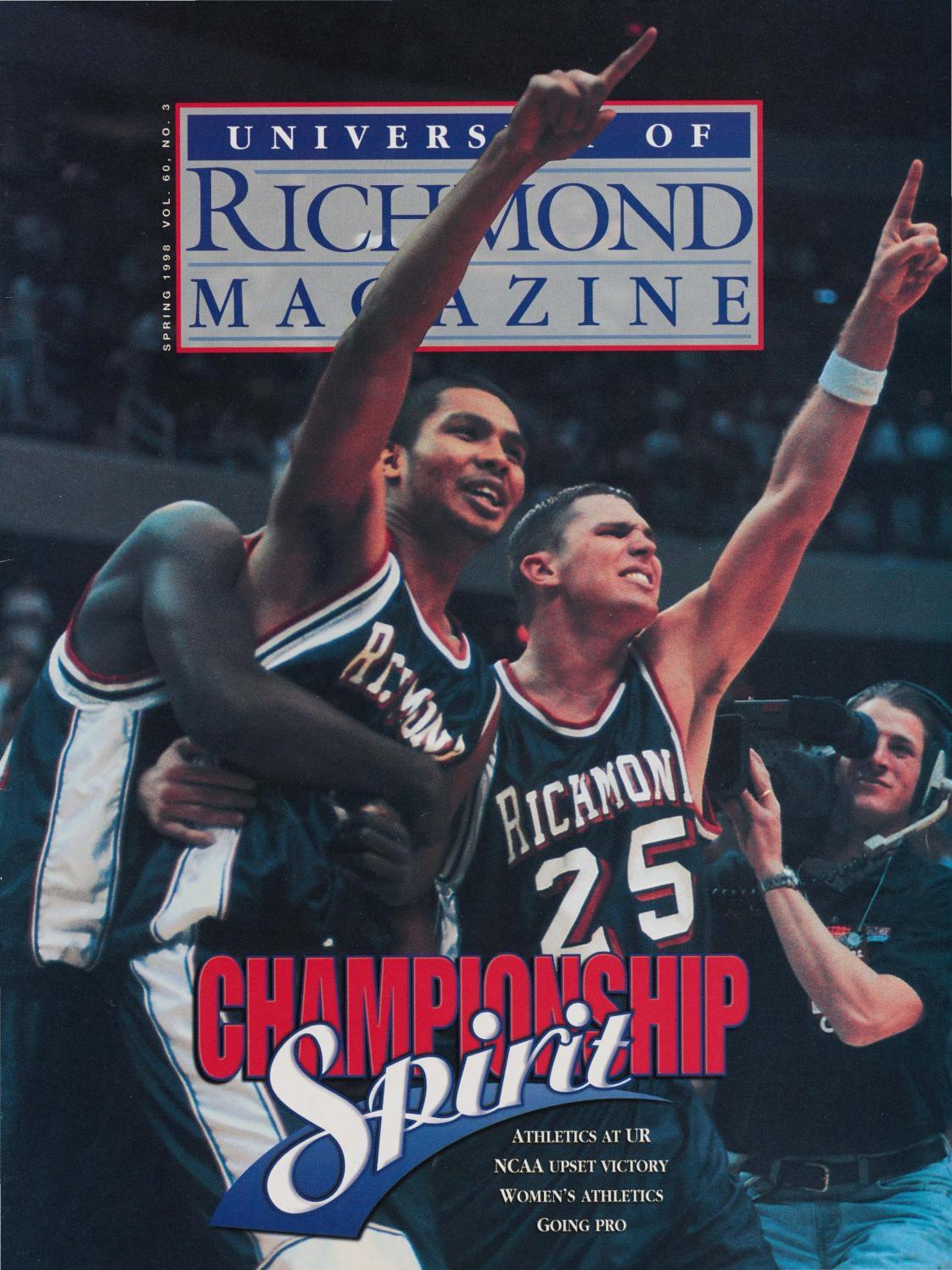 University of Richmond Magazine Spring 1998 by UR Scholarship Repository -  issuu d7164861e