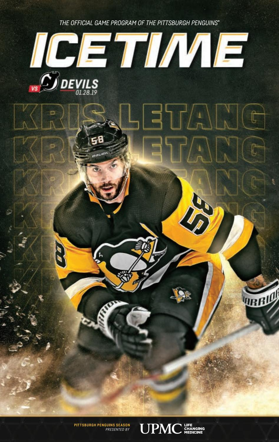 89748bb4e IceTime - Game 24 vs New Jersey Devils 01.28.19 by Pittsburgh Penguins -  issuu