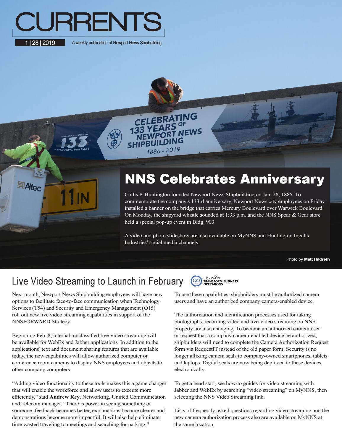Jan  28, 2019 by Newport News Shipbuilding - issuu