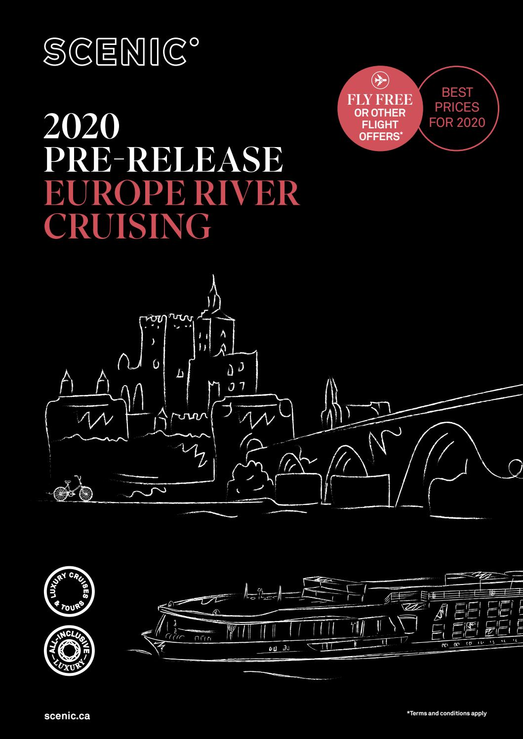 Scenic Europe River Cruising 2020 Pre-Release by Scenic