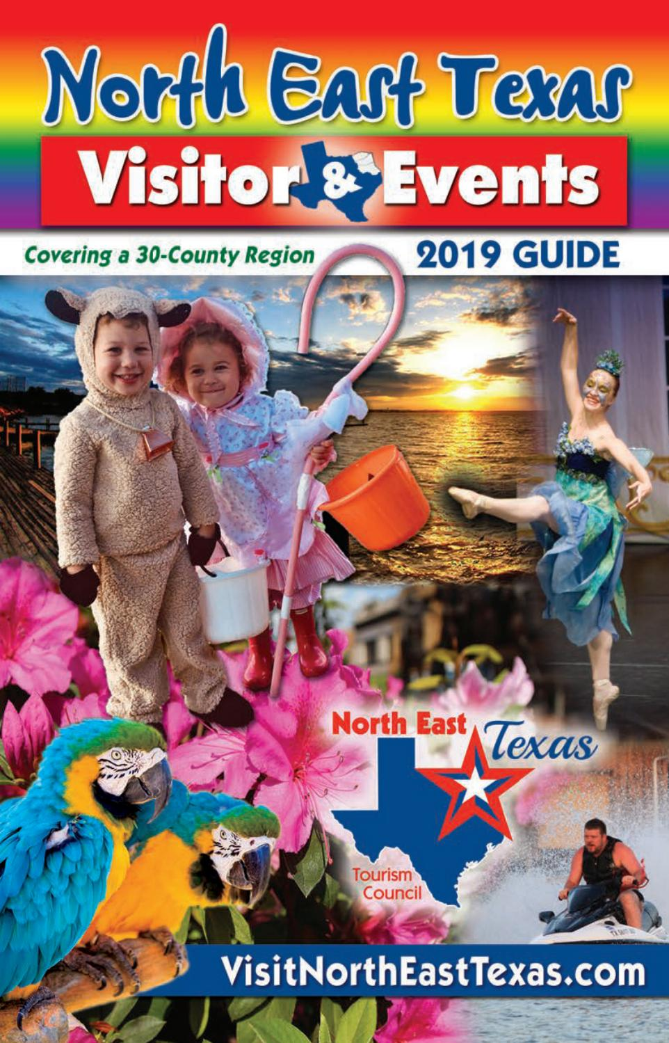 North East Texas Visitor & Events Guide 2019 by Richardson