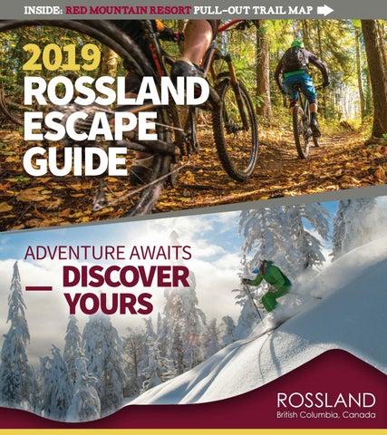 a3bea02c6e8 2019 Rossland Escape Guide by Tourism Rossland - issuu