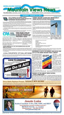 e9f89dc76025 Mtn Views News 012619 by Mountain Views News - issuu