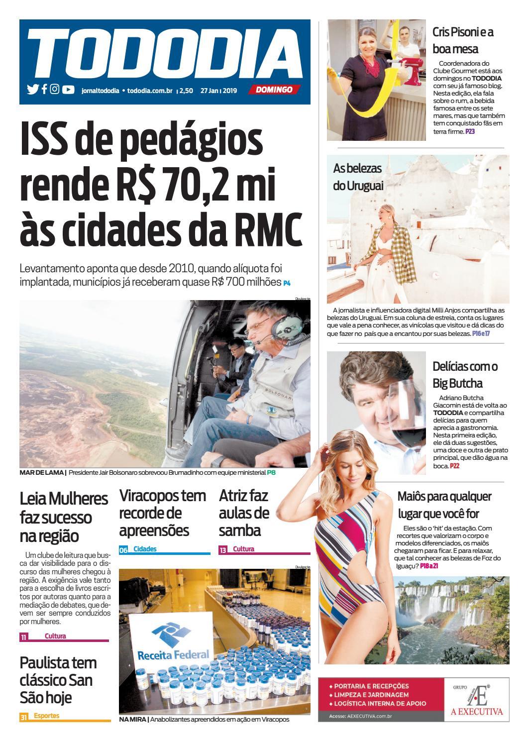 1cee2049c domingo-27-01-2019 by Jornal TodoDia - issuu